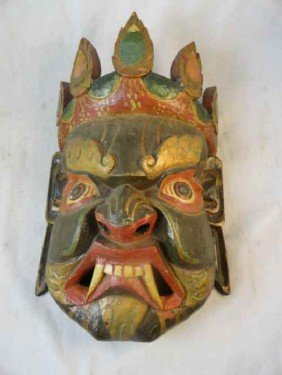 12210050F: INDONESIAN CEREMONIAL MASK
