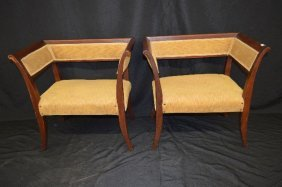 A Pair Of 19th Century French Lolling Chairs