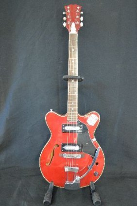 Gibson Style 1960s Hollow Body Electric Guitar