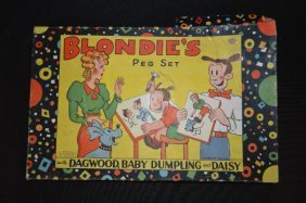 Vintage Blondies Peg Set
