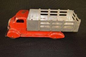 Vintage Marx Tin Lithograph Farm Truck