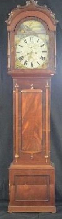 Scotland 18th Century Tall Case Clock