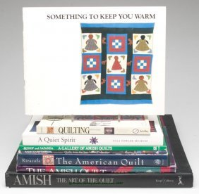 QUILTS REFERENCE VOLUMES, LOT OF EIGHT, Including