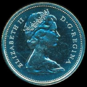 1971 Canada 25c GEM+ Unc NC