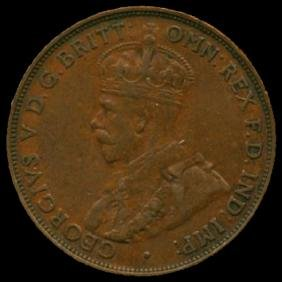 1931M Australia Large Penny Hi Grade XF HIGH BOOK VAL