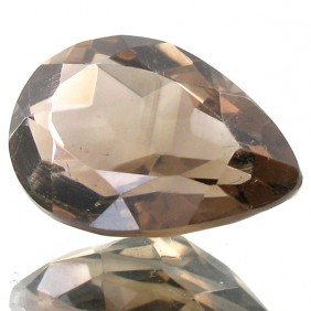 11.9ct Top Smoky Quartz Pear EST: $21 - $42 (GEM-4