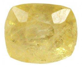2.30ct Natural Untreated Ceylon Yellow Sapphire EST