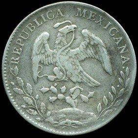 1896 Mexico Zatacecas 8R VF