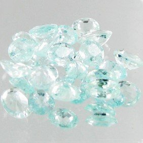 1.05ct Neon Blue Cuprian Tourmaline Parcel