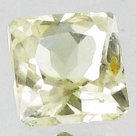 3.45ct Sparking Top Green Kunzite Cushion