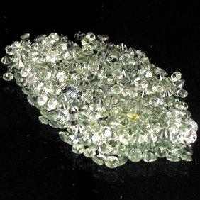 1ct Green Sapphire Round Cut Parcel