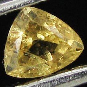 .2ct Yellow Sapphire Trillion EST: $9 - $18 (GMR-11