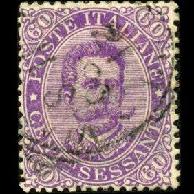 1889 RARE Italy 60c Stamp