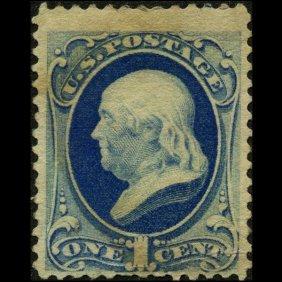 1879 US 1c Franklin Stamp