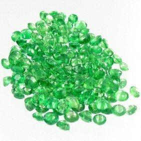 1.09ct Green Tsavorite Garnet Oval Cut Parcel