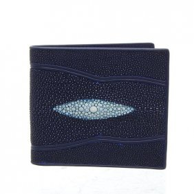 Mens Stingray Hide Skin Wallet