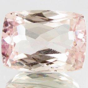 10.9ct Sparking Top Pink Kunzite Cushion