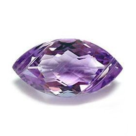 .8ct. Marquise Natural Amethyst 10mm
