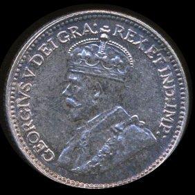1929 Canada Newfoundland 5c MS65