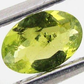 0.4ct Chrome Green Tourmaline Oval
