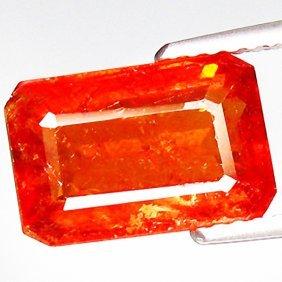 5.25ct Lustrous Mandarin Orange Spessartite (GEM-035200