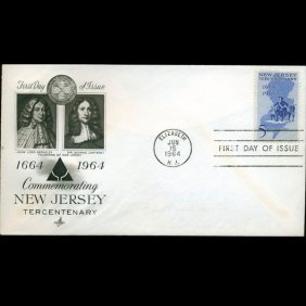 1964 US First Day Postal Cover