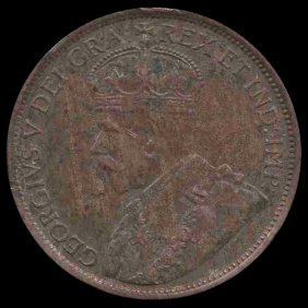 1913 Canada Cent Higher Grade