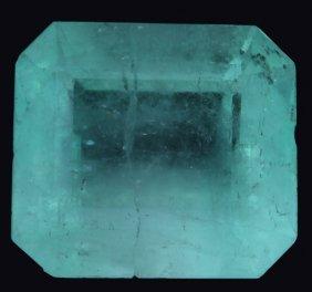 7.49ct Mint Green Colombian Emerald