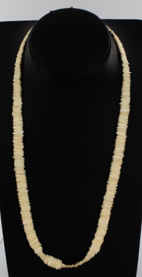 Vintage Bone Handcrafted Necklace