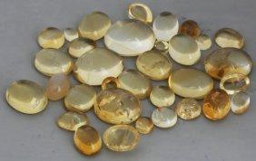 48.8ct Yellow Citrine Parcel
