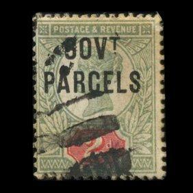 1888 British 2p Victoria Official Stamp Hi Grade