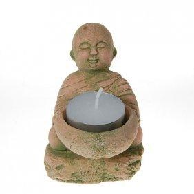Hand Formed Sandstone Monk