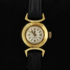 Vintage Omega 14k Ladies Watch