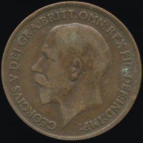 1915 Britain 1p Vf/xf