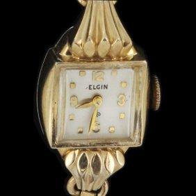 Vintage Elgin Ladies Gold Filled Watch