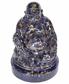 930.00ct. Nice Happy Buddha Statue Blue Sapphire