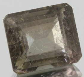 6.55ct Green Tourmaline Emerald Cut