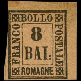 1859 Romagna 8b Stamp Mint Og Never Hinged
