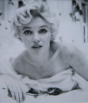 Marilyn Monroe, Untouched Photo By Cecil Beaton, '56