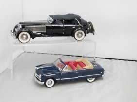 Two Franklin Mint Precision Model Cars