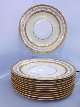 Adderley England Bone China Dinner Plates Made For