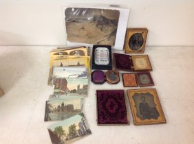 Lot Of Mixed Cased Images, Stereoviews, Photos,