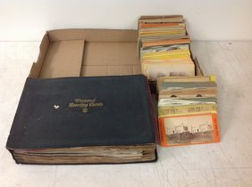 Horse Racing Album With Photos, Postcards And Clippings;