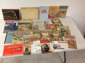 Railroad Ephemera Including 1933 & 1939 World's Fair