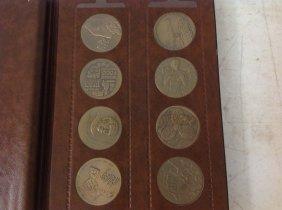 (30) Bronze Israel Medals In Album. All In Very Nice