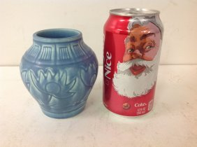 Rookwood Blue Matte Glaze Decorated Art Pottery Vase,