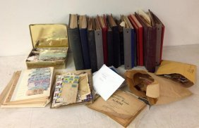 Large Estate Lot United States & Other Stamps
