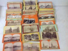 Lot Of 154 Massachusetts Stereoviews, All Real Photo,
