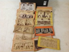 Lot Of 48 Real Photo African-american Stereoviews, As
