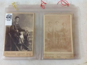 Lot Of 16 Images Including Cabinet Cards, Rppc's, Etc